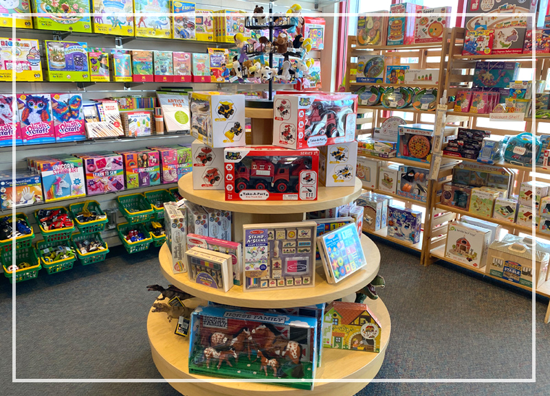 View inside Playful Learning Store
