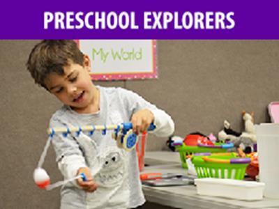 Preschool Explorers - August 2019